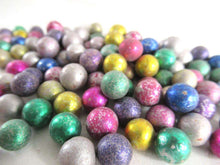 UpperDutch:Marbles,Mix of 100 Very Small Rare Clay Marbles, mixed colors. Colored Jewelry supply.