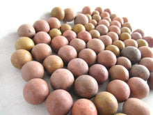 UpperDutch:Marbles,Set of 75 Antique Clay Marbles.