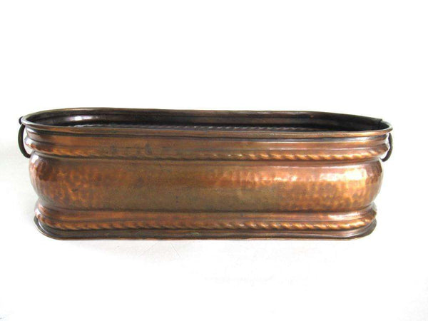 UpperDutch:Planter,Antique Copper Planter.