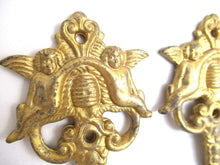 UpperDutch:Wall hook,Set of 3 Cherub hooks, Kitchen hooks, Towel hooks, Victorian Style, Angel.