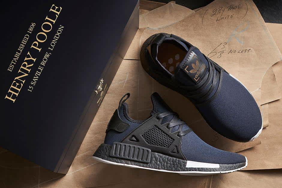 A Detailed Look at the size? x Henry Poole x adidas Originals NMD XR1 and NMD R2