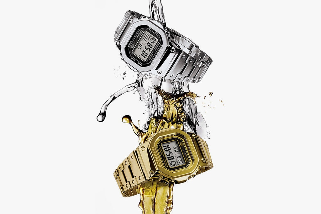 "Casio G-SHOCK Goes ""Full-Metal"" for Its Latest GMW-B5000 Release"
