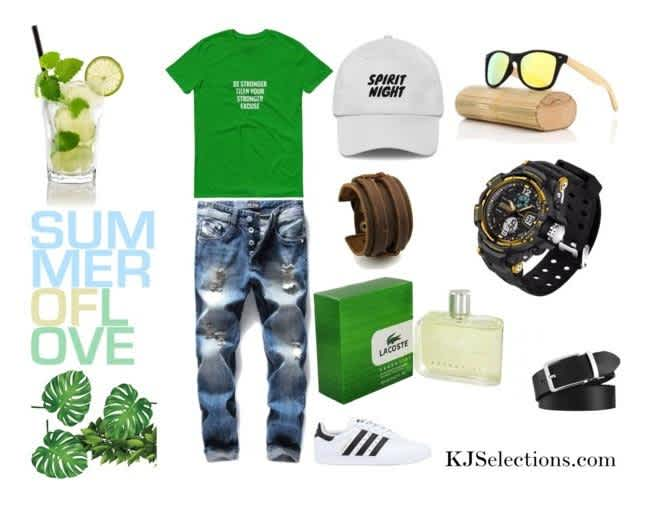 Men's Summer Fashion Style Essentials Outfit of the day