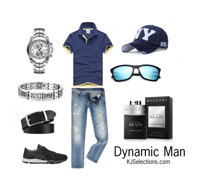 Men's Young & Dynamic Outfit Style