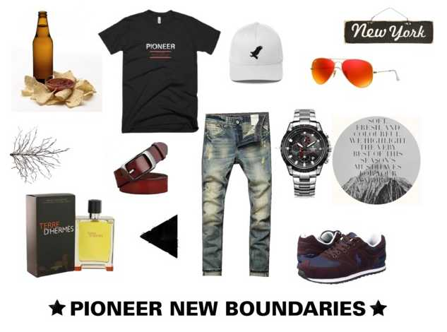 New Men's Outfit of The Day, Pioneer New Boundaries