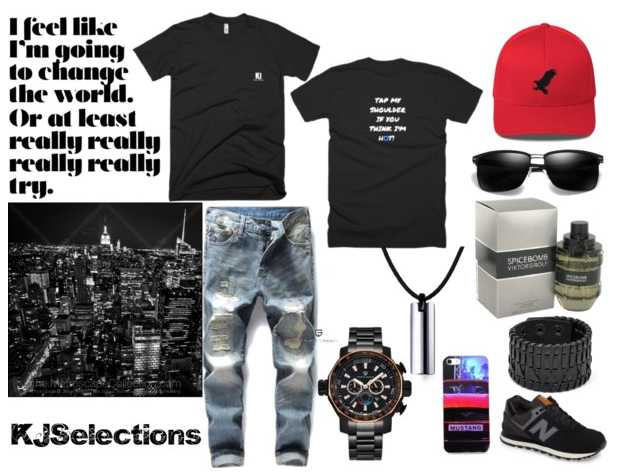Outfit for Man, Stylish Street Style, Sport Style, Casual Style for Him