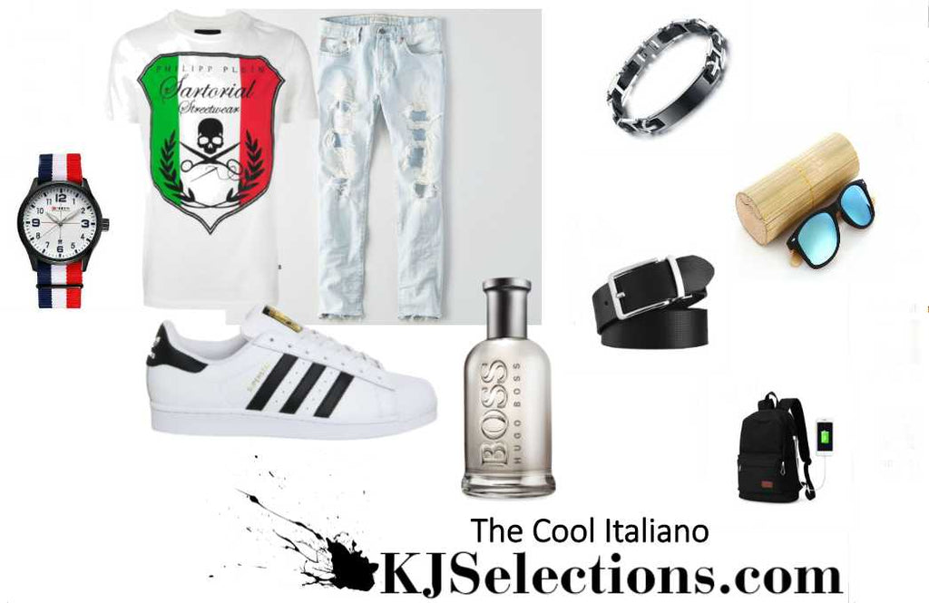 Outfit For Men with Italian and International Vibe