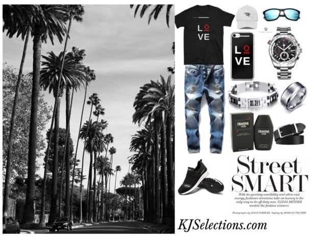 Street Smart Love Outfit For Men