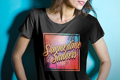 summertime sadness t shirt for women