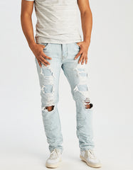 American Eagle Outfitter Bleached Ripped Jeans for Men