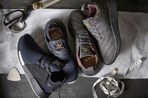 x Henry Poole x adidas Originals NMD XR1 and NMD R2