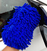 Best Seller 2 In 1 Car Washing Gloves Car Cleaning Sponge Coral Shaped Superfine Fiber Chenille  - KjSelections