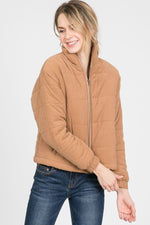Puffy Long Sleeves Jacket  - KjSelections