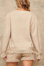 A Solid Knit Sweater  - KjSelections