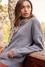 A Multicolor Knit Sweater  - KjSelections