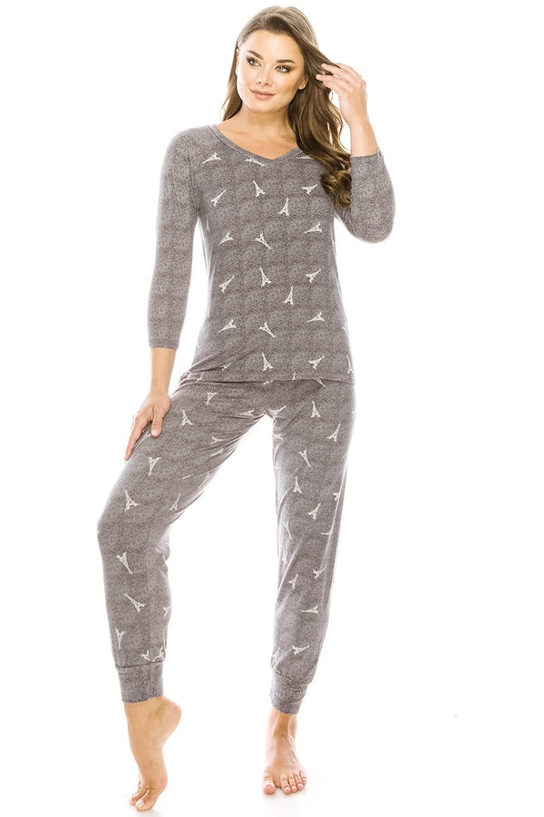 2pc Flannel Pj Set  - KjSelections