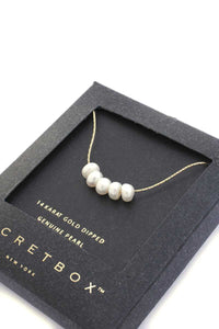 Secret Box Genuine Pearl Necklace  - KjSelections