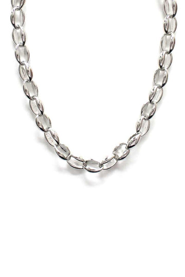Metal 2 Style Mix Chain Necklace