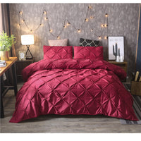 Duvet Cover Set 2/3pcs Twin/Queen/King Size Bedding Set  - KjSelections