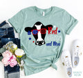 Red White Moo T-shirt