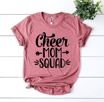 Cheer Mom Squad T-shirt
