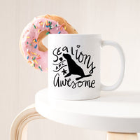 Sea Lions Are Awesome - Sea Lions Coffee Mug - Sea  - KjSelections