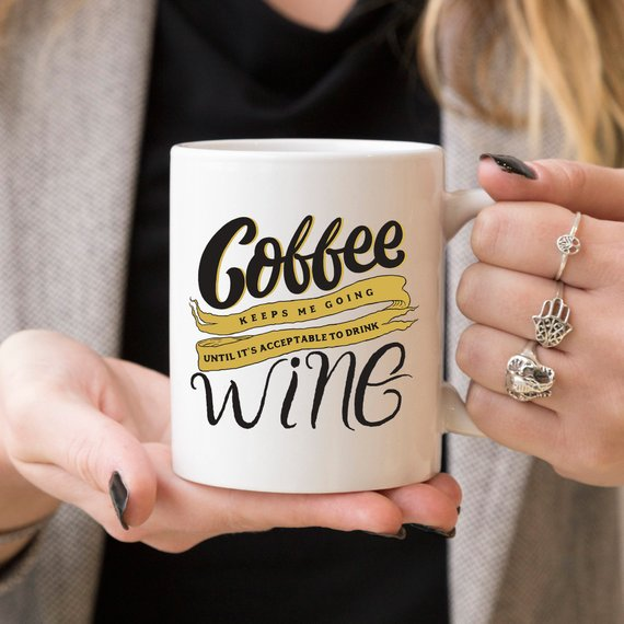 Humorous Gift for Wine Lovers - Funny Gift for  - KjSelections
