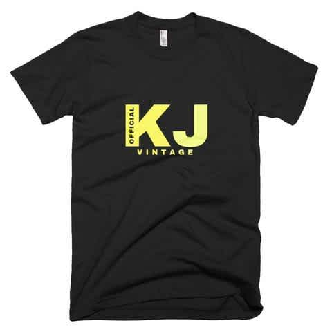 Authentic Mens KJSelections Official Vintage American Apparel T-Shirt, T-Shirt for Men, Mens shirt, mens clothing, T Shirts for Man, Gift for him, Guys Casual Sports T-Shirts