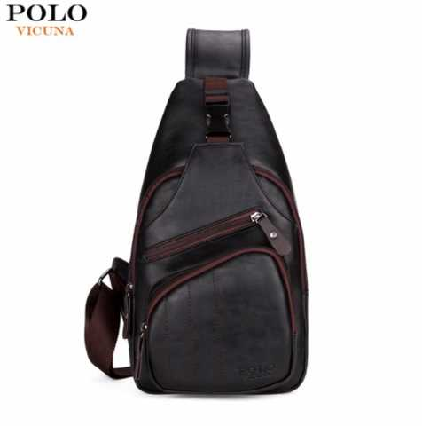 EXTRA LARGE SIZE MEN'S SHOULDER BAG