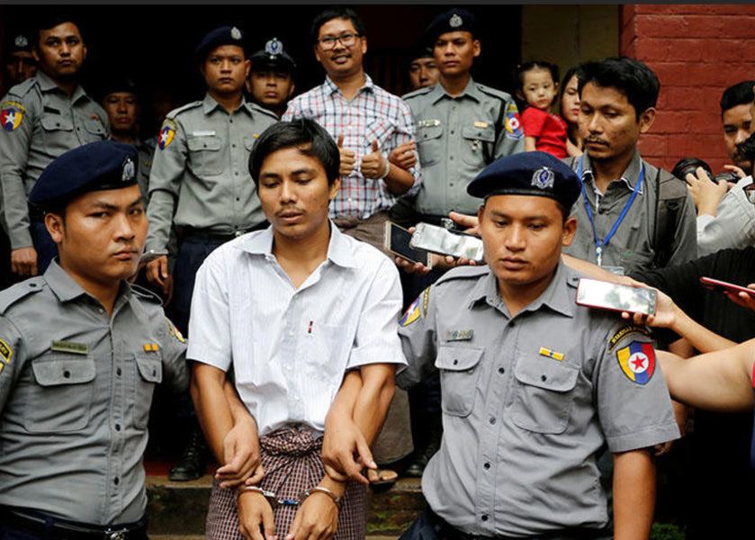 Myanmar court rejects appeal by  Reuters' Wa Lone and Kyaw Soe Oo