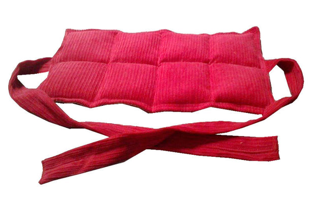 8 Panel Lumbar Heat Pack with Ties - Applied Body Shop