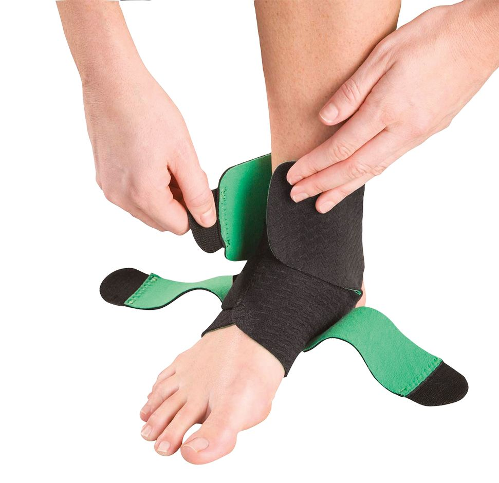 Green Adjustable Ankle Support - Applied Body Shop