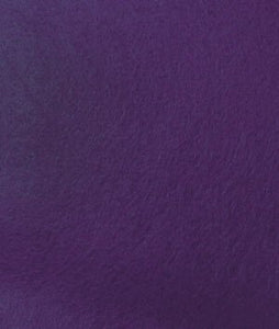 Felt Aisle Runner for Wedding Runway and VIP Events Solid Purple
