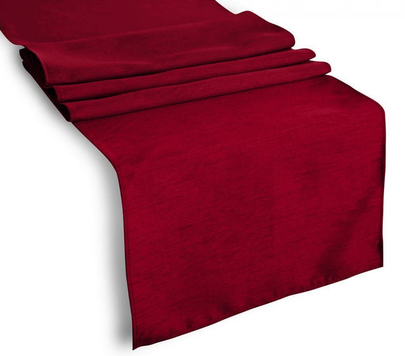Faux Silk Dupioni Table Runner