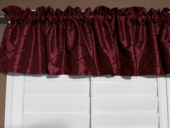 Pintuck Window Valance 52