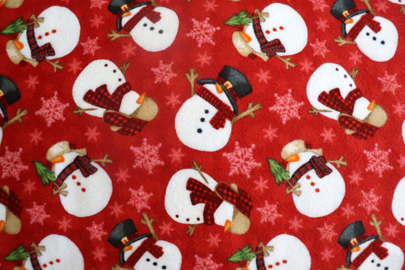 100% Cotton Flannel Christmas Print Window Valance 42