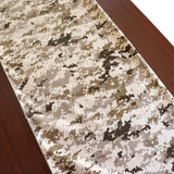 Cotton Print Table Runner Camouflage Digital Pixel Desert Camo