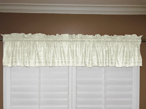 Cotton Eyelet Window Valance 58