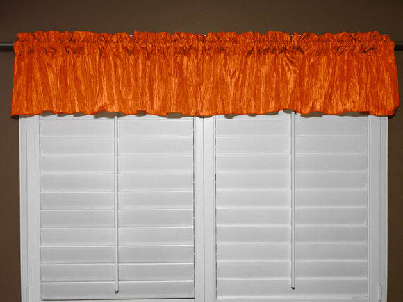 Crinkle Taffeta Window Valance 52