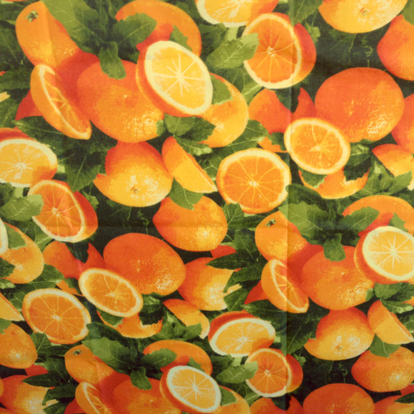 Cotton Oranges Print Decorative Throw Pillow/Sham Cushion Cover