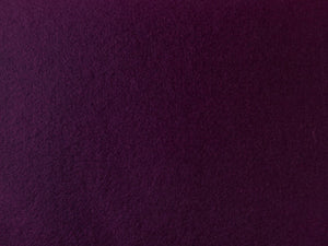 Felt Aisle Runner for Wedding Runway and VIP Events Solid Plum