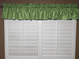 "Pintuck Window Valance 52"" Wide Sage"