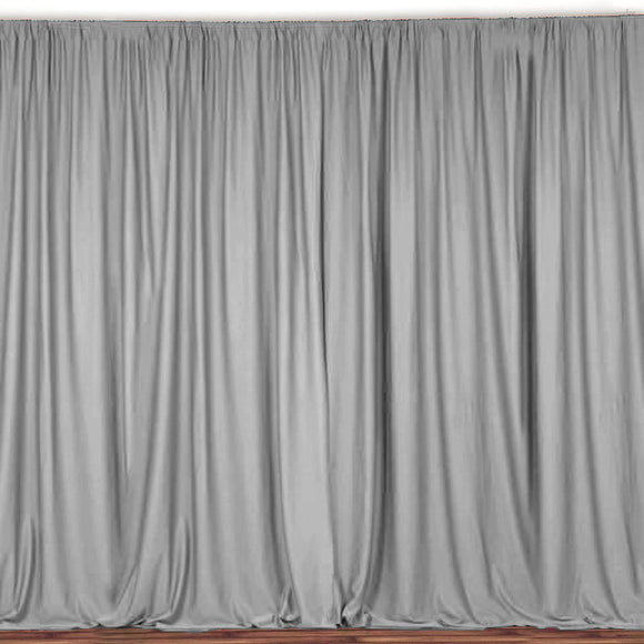 Solid Poplin Window Curtain or Photography Backdrop 58