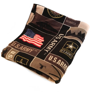 Fleece Blanket United States Army