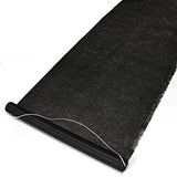 Felt Aisle Runner for Wedding Runway and VIP Events Solid Black