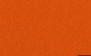 Felt Aisle Runner for Wedding Runway and VIP Events Solid Orange