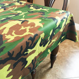 Cotton Camouflage Tablecloth