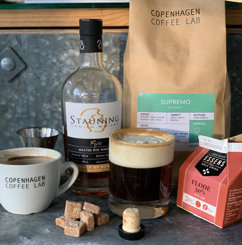 Stauning Whisky Irish coffee alternative danish coffee