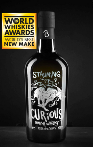 Stauning Curious new make whisky won worlds best at world whiskies award