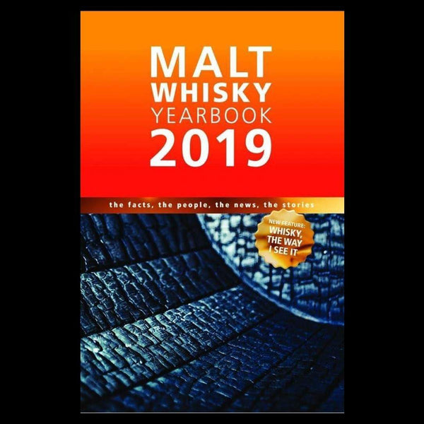 Stauning whisky merchandise Malt Whisky Yearbook 2019 - Signed by Ingvar.